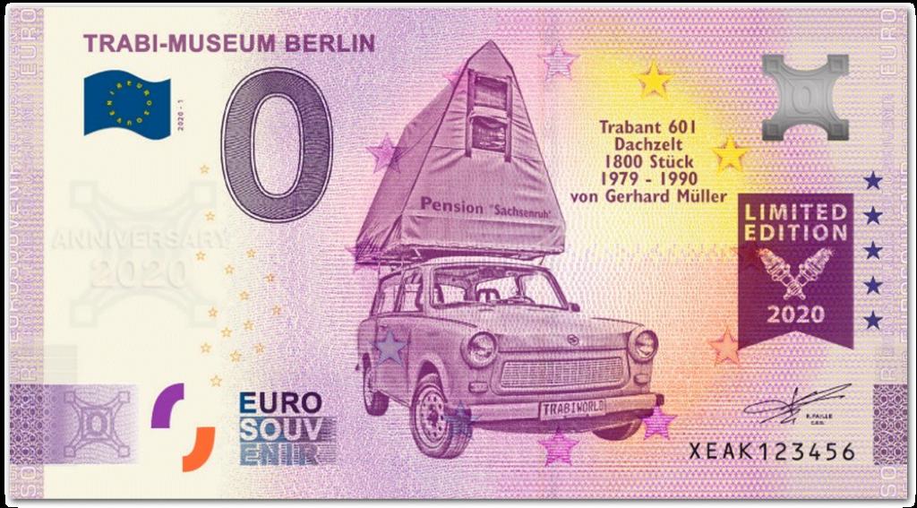 front side TRABI-MUSEUM BERLIN (anniversary version)