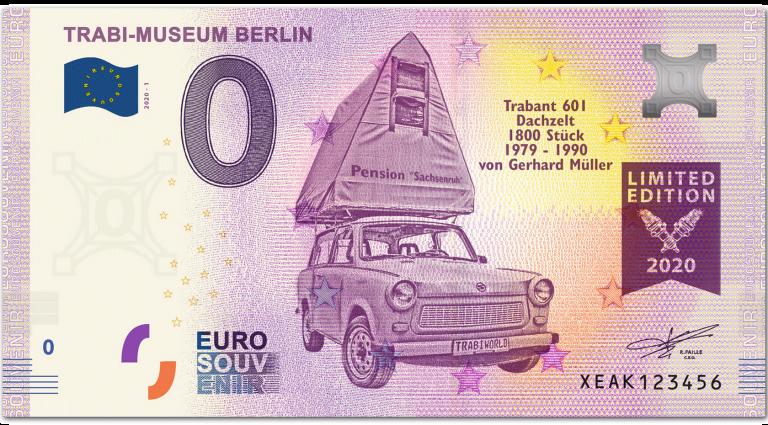 front side TRABI-MUSEUM BERLIN (normal version)
